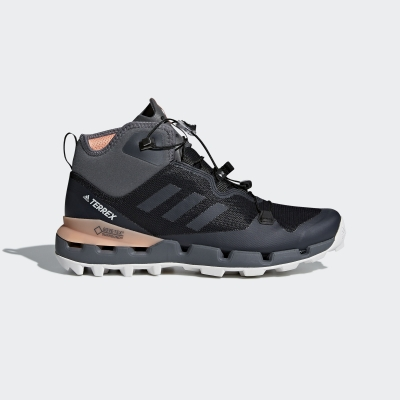 Damske Adidas Terrex Fast Mid Gtx-surround Outdoor Topánky Čierne Coral Siva Size(EU 36-40 2/3)